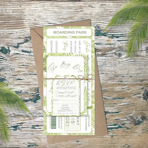 Green Palms destination wedding