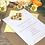 Thumbnail: Sunflower wedding invitation with Gingham