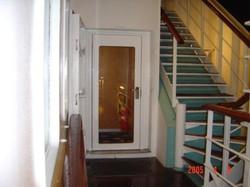 Single Hinged Glass Door