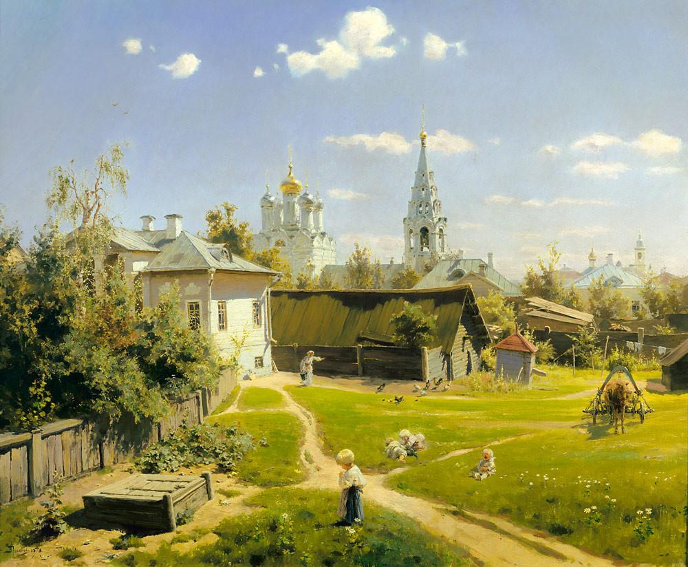 Московский Дворик. Василий Поленов, 1878