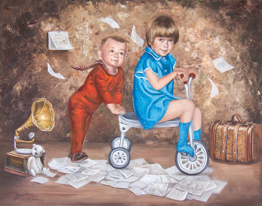 """Series of Paintings """"Memories"""""""