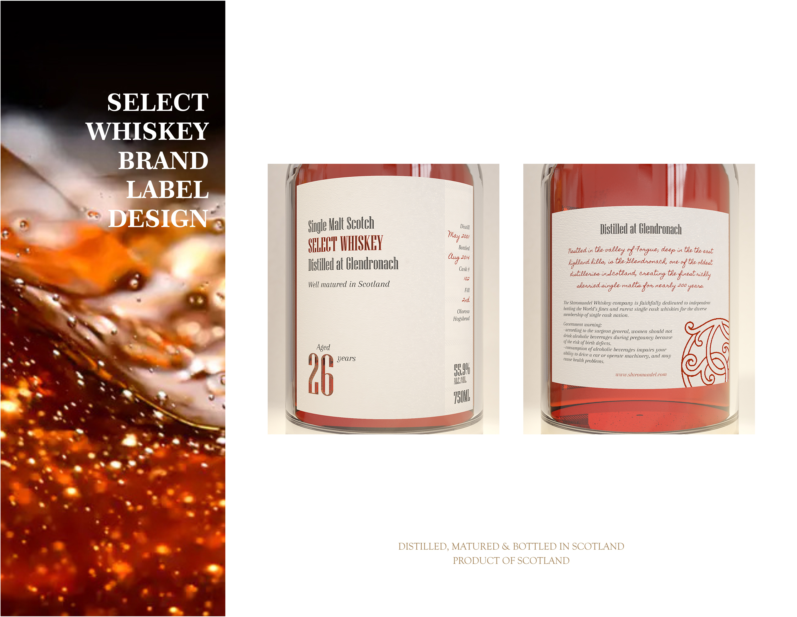 """""""Select Whiskey""""  Private Whiskey Label"""