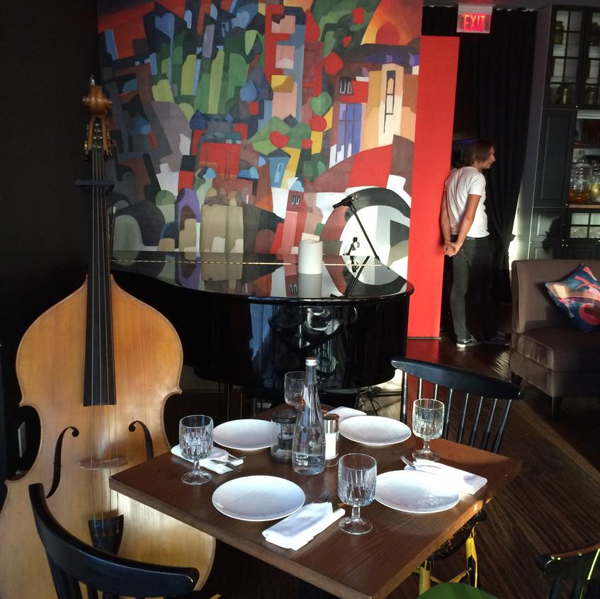 Kandinsky Restaurant Murals
