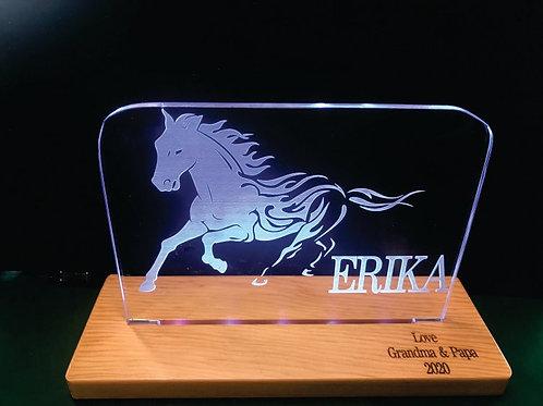 HORSE LED ACRYLIC