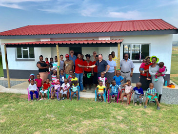 Canaf CEO at Opening of New Zamokhule Creche
