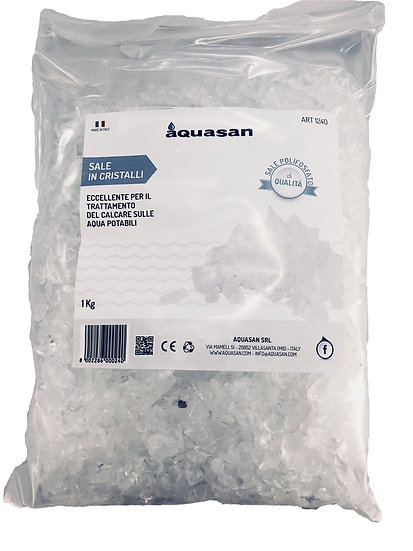 Sale in cristalli 1KG AquaKal