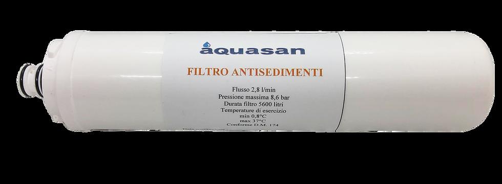 Filtro antisedimenti ultrafiltrazione