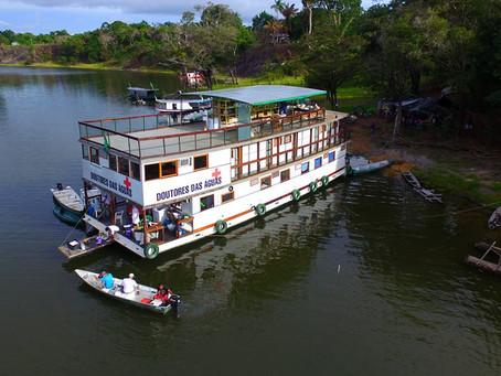 Il Battello della Salute, un aiuto per i nativi: il nostro accordo con Amazônia ONLUS