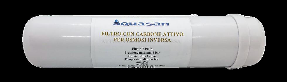 Filtro carbone attivo osmosi