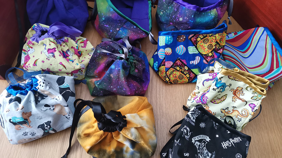 Ready to send reversible bags - reduced to clear