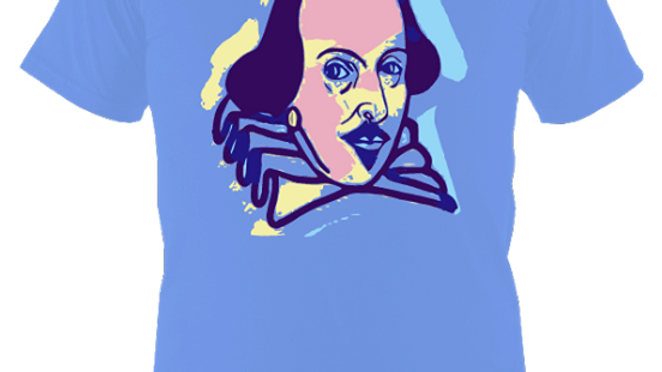 Shakespeare Portrait T Shirt