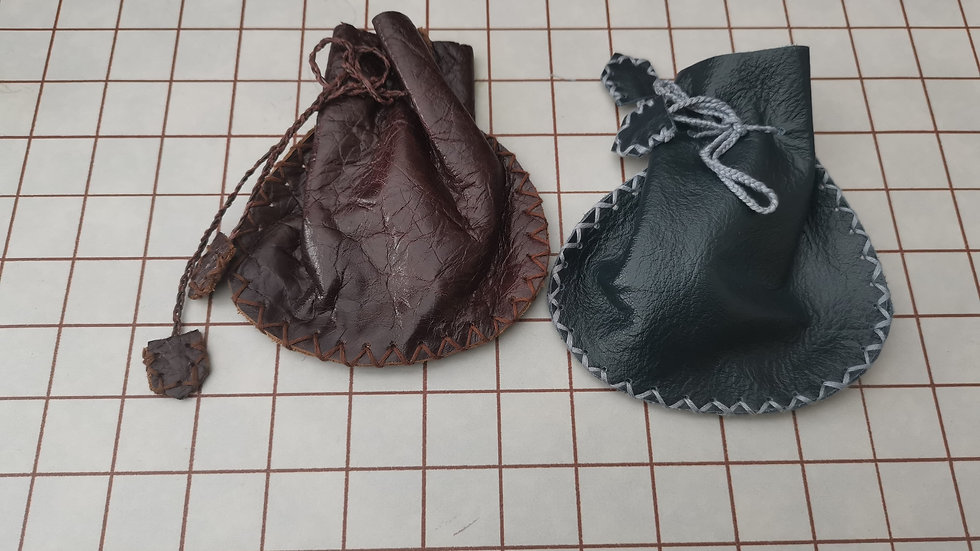 Ready to send leather pouches