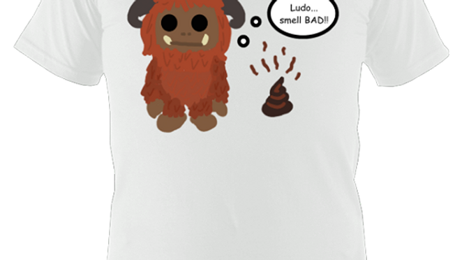 Ludo Smell Bad T Shirt
