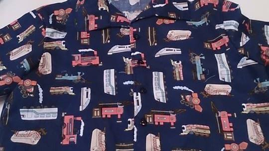 Child's Hawaiian Shirt -choice of fabrics