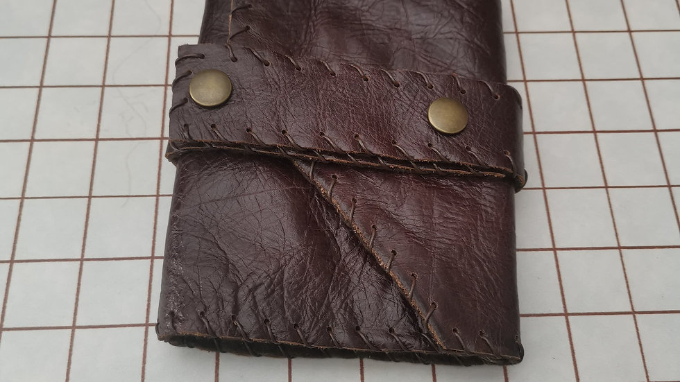Ready to send Leather A6 journal holder