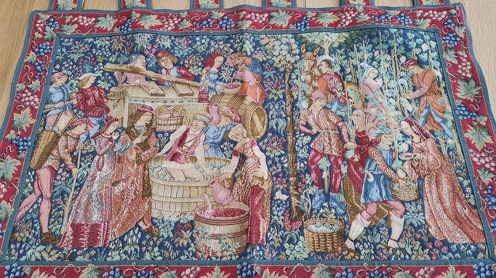 Grape Harvest Hanging tapestry
