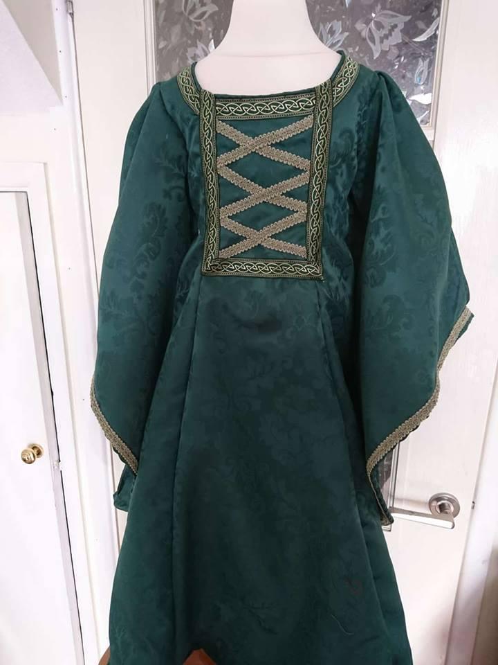 Child's medieval LARP dress