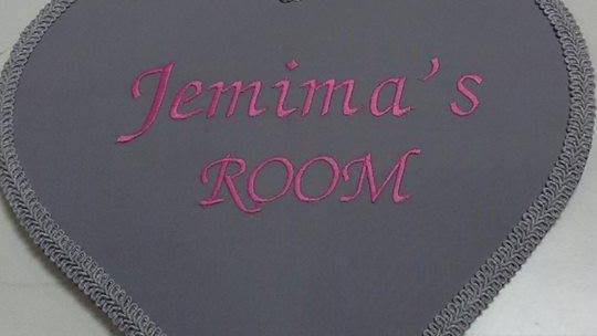 Personalised Door Plaque - made to order - many designs