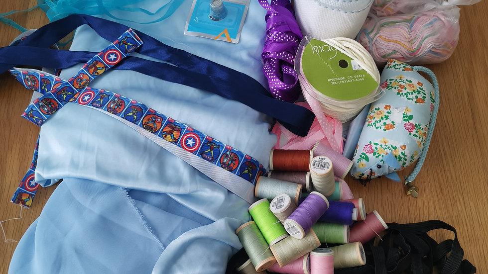 Clearance bundle 2 -fabric /ribbon& more
