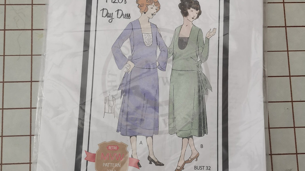 New and unopened MY Vintage Patterns 1920's Day dress