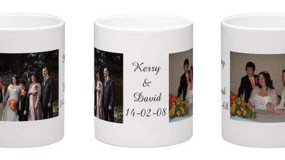 Custom Photo And Text Mug