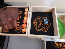 Cantilever D& D accessory storage box inc dice tray