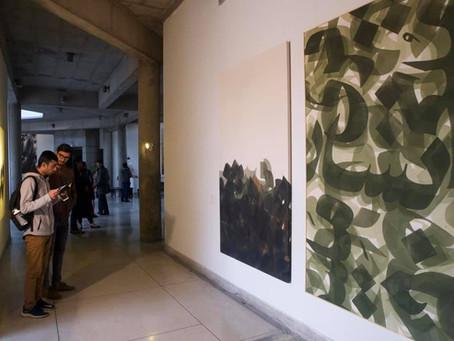 Man Pardêsî Jai Thee-ai: an Exhibition of Calligraphy Creations in Siyah Mashq