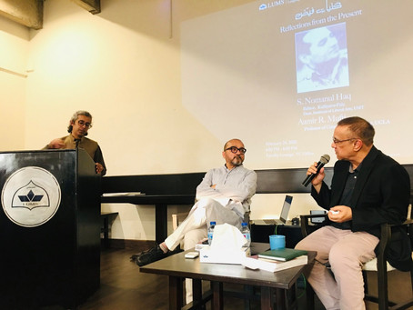Kulliyāt-e-Faiz Launch: Reflections From the Present with Syed Nomanul Haq and Aamir Mufti