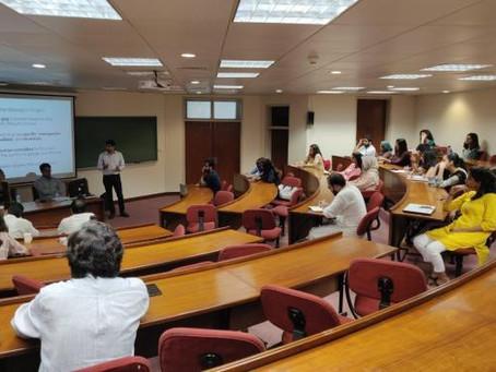 Workshop Held for Humanities Graduate Applicants
