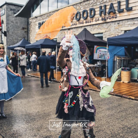 It's grand to be back! Crafty Vintage Market re-opens at Holmes Mill. Here's how it all went...