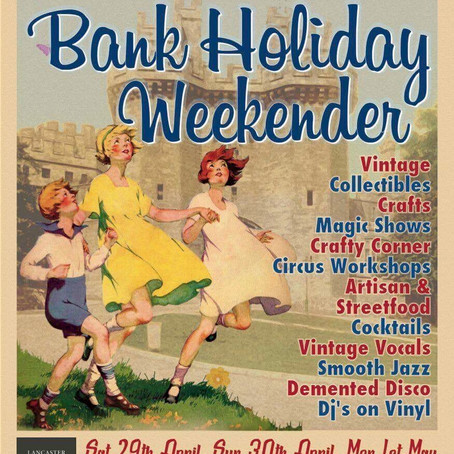 Crafty Vintage at Lancaster Castle - Saturday 1st & 2nd July