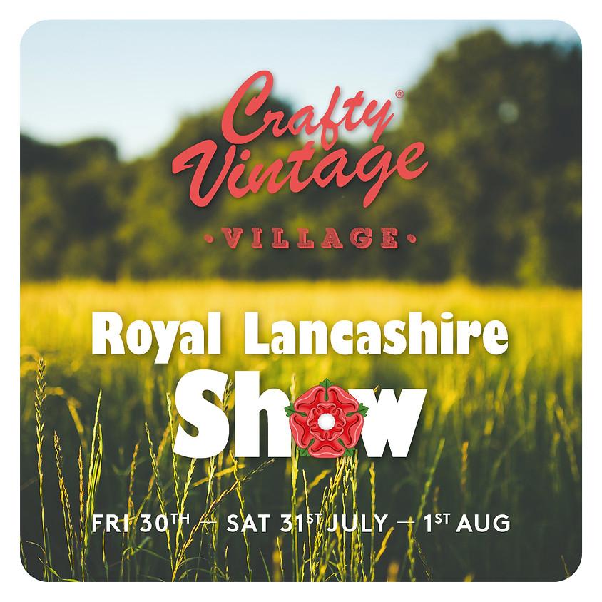 Crafty Vintage Village at The Royal Lancashire Show
