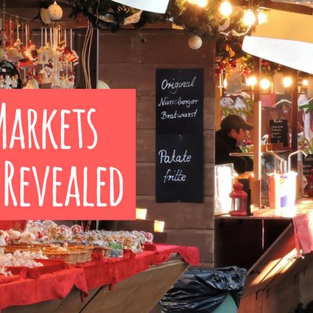 Festive Markets Locations Revealed
