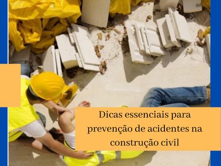 Dicas essenciais para prevenção de acidentes na construção civil