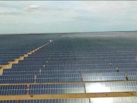 GRANDES ESTRUTURAS: Parque Solar de Nova Olinda
