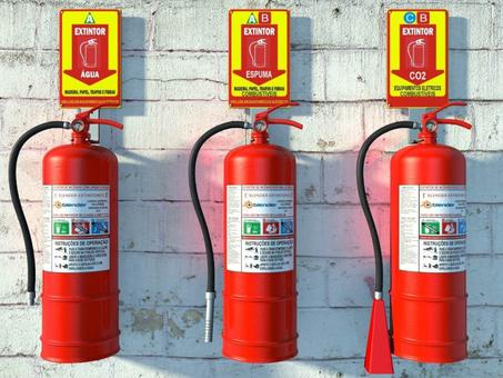Extintores de incêndio: saiba como e onde usar