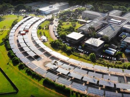 Carport: estrutura para estacionamento solar