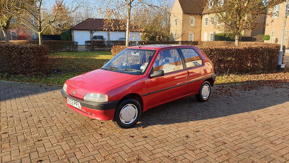 (SOLD) 1995 Peugeot 106 1.1 3dr Aztec