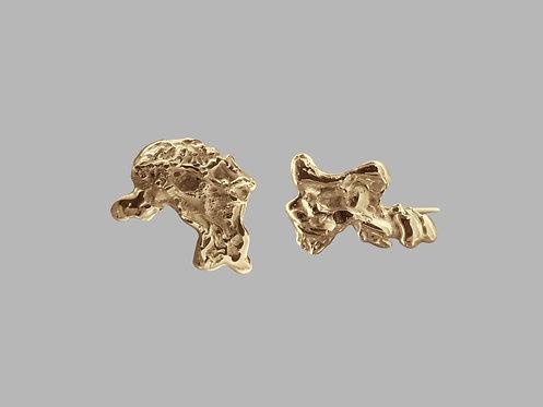 Brinco Fossil M B.ouro
