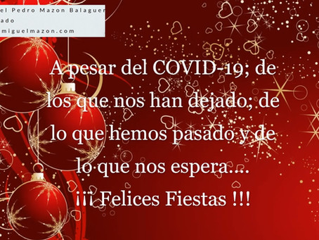 A pesar de todo !!! Felices Fiestas ¡¡¡