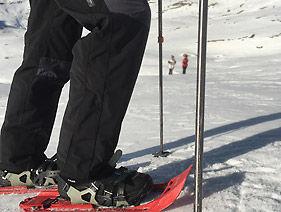 Schneeschuhwandern Schneeschuhlaufen Berninapass