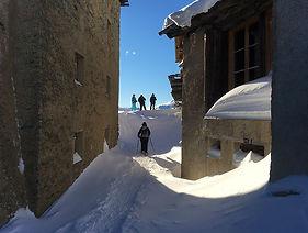 Schneeschuhwandern Sils Engadin