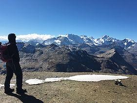 Piz Stretta Bernina Trekking