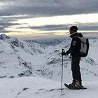 Munt Cotschen Schneeschuhtour