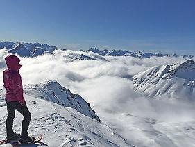 Schneeschuhtour Engadin St. Moritz