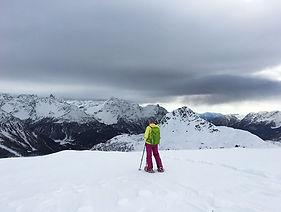 leichte Schneeschuhtour Bernina Pass