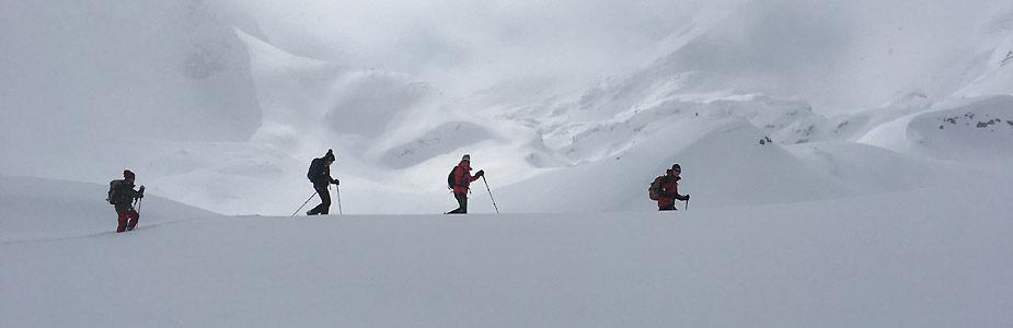 Schneeschuhwandern Engadin Julierpass Schneeschuhlaufen