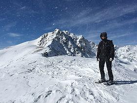 Schneeschuhtour Gipfeltour Engadin St. Moritz