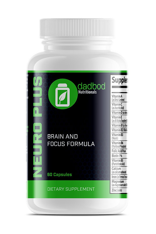 Dadbod Nutritional Neuro-Plus