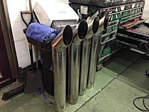 Lorries Exhaust Stacks